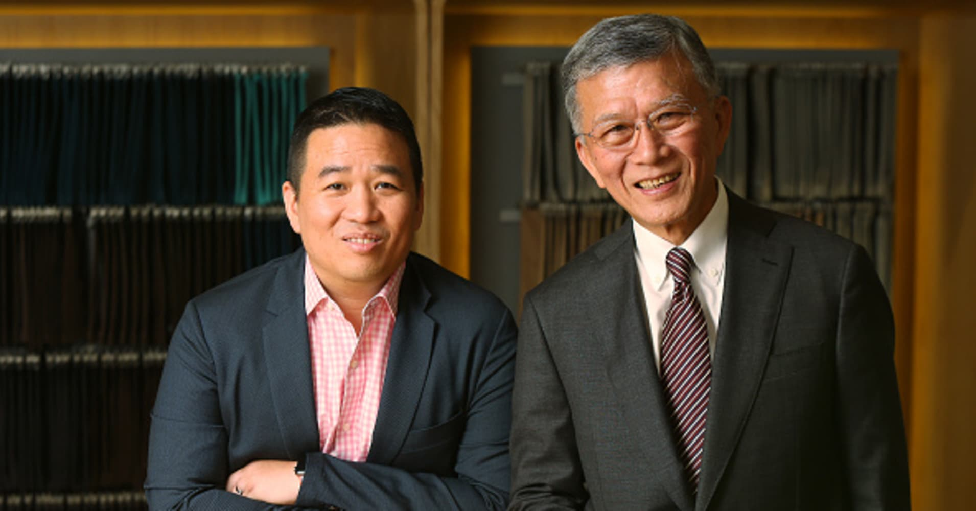 Roger Lee Kwo-chuan (Left), Chief Executive Officer, and Dr. Harry Lee Nai-shee (Right), Chairman of TAL Group.