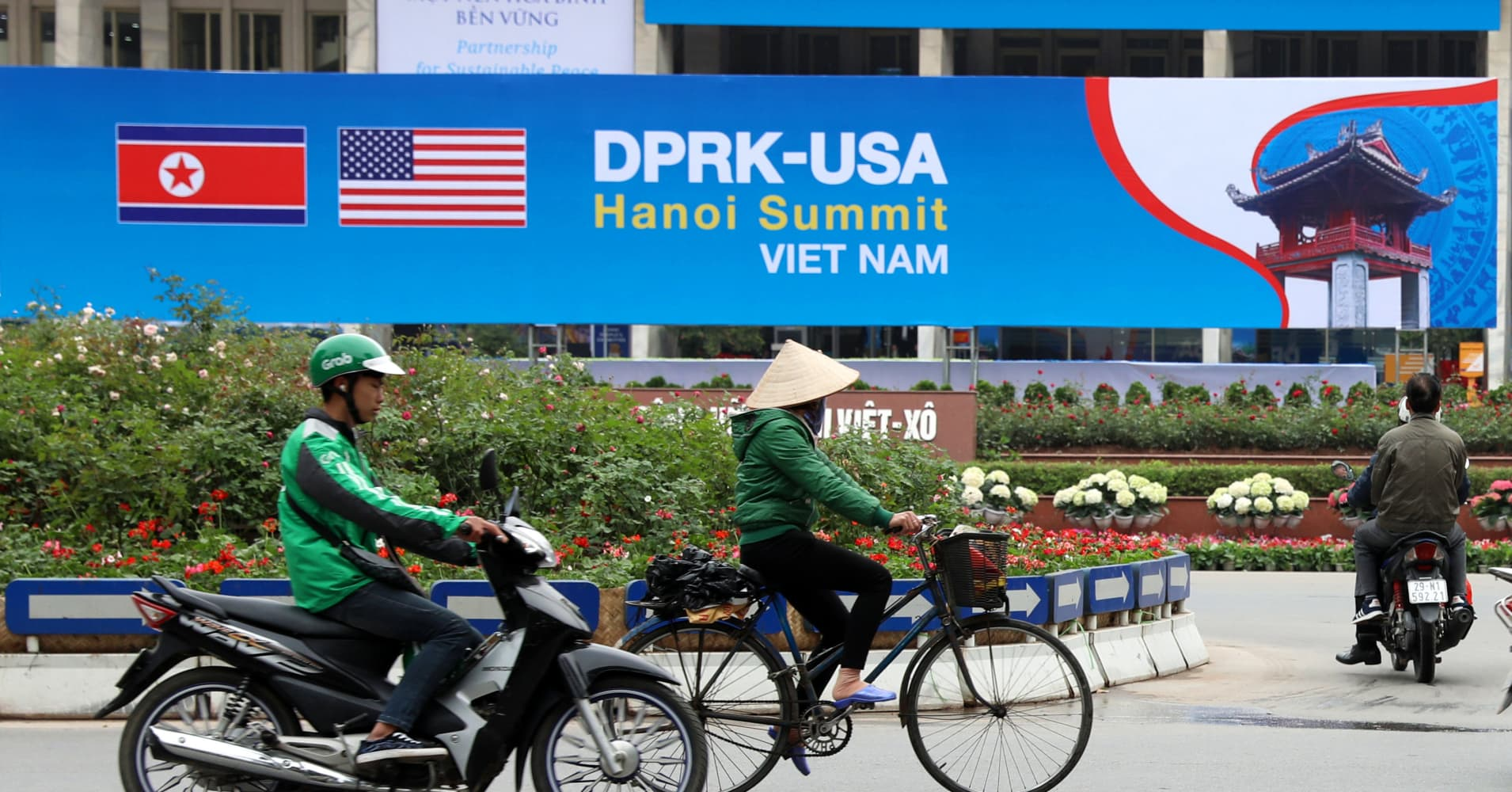 Vietnamese tanker bound for North Korea with gasoline cargo as Trump, Kim meet in Hanoi