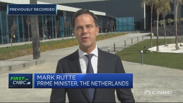 Dutch PM 'highly worried' about how Brexit is being handled