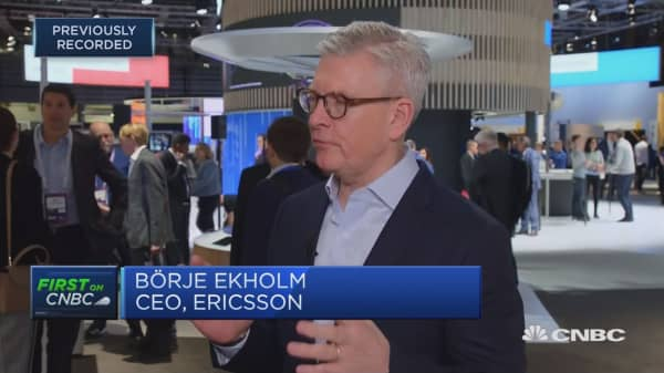 Ericsson CEO: Huawei situation creating uncertainty for customers