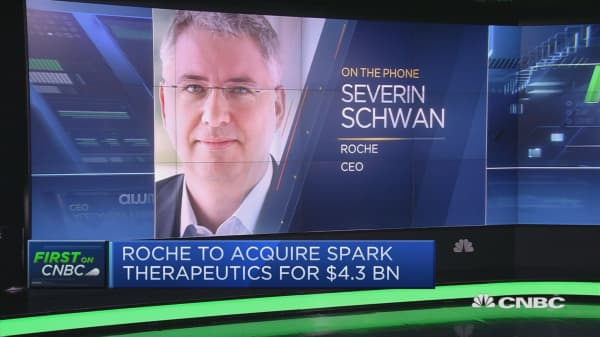 Roche to purchase gene therapy firm Spark in $4.3 billion deal
