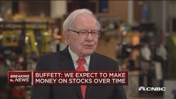 Warren Buffett says Berkshire stock managers Weschler, Combs have trailed the S&P 500