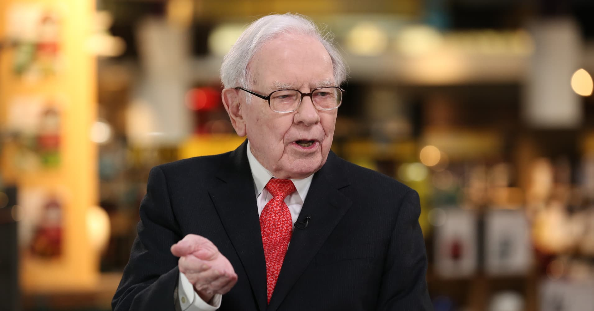 Buffett on the economy: 'It looks like things have slowed down'