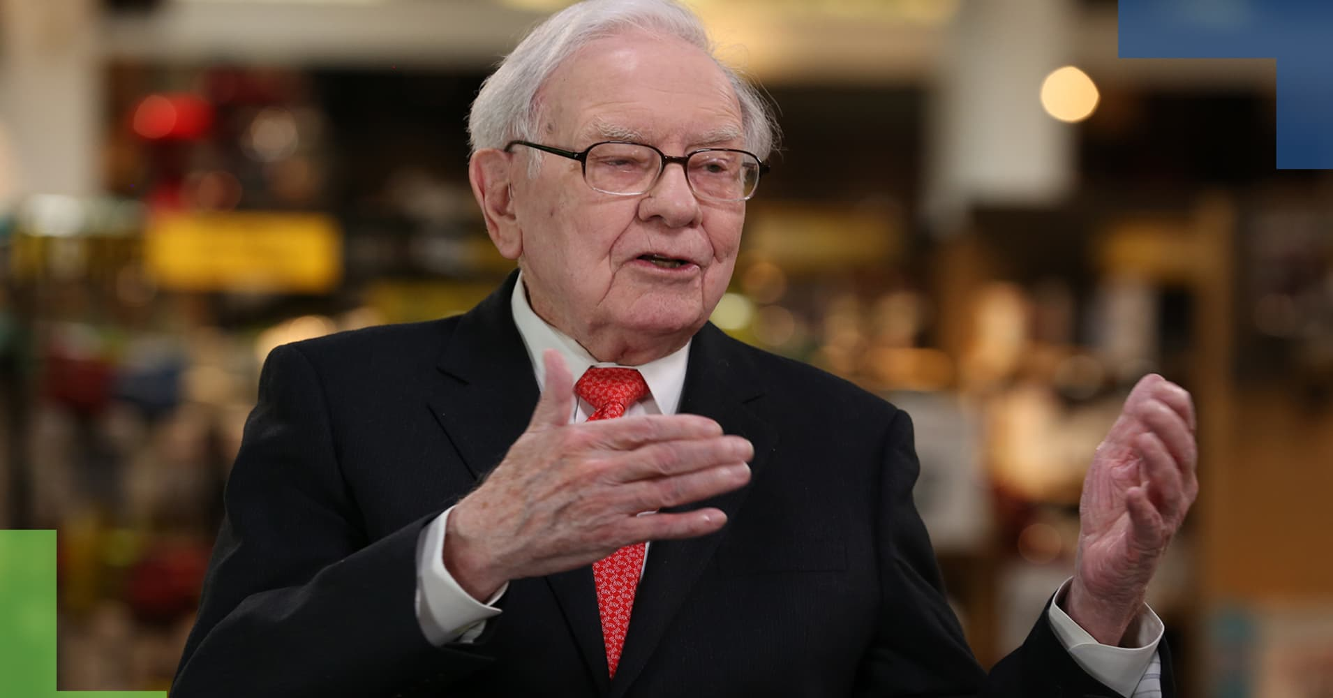 Warren Buffett says there's 'enormous resistance to change' healthcare
