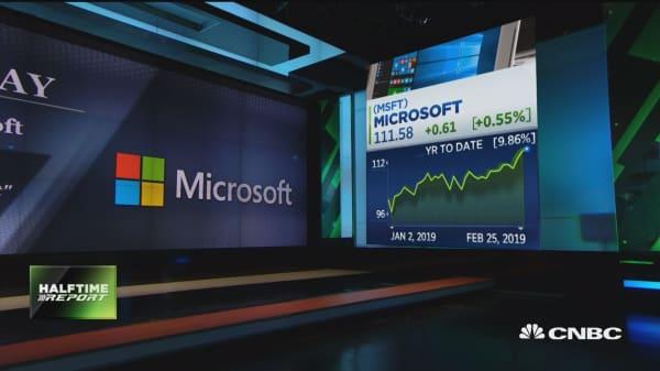 Microsoft added to 'best ideas' list at Wedbush