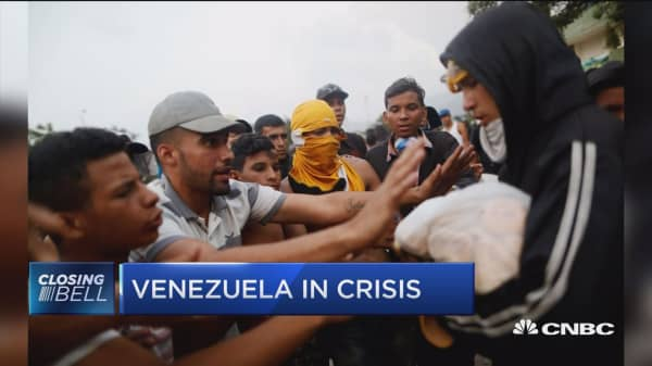 I don't see today's sanctions changing things on the ground in Venezuela, says NYT reporter