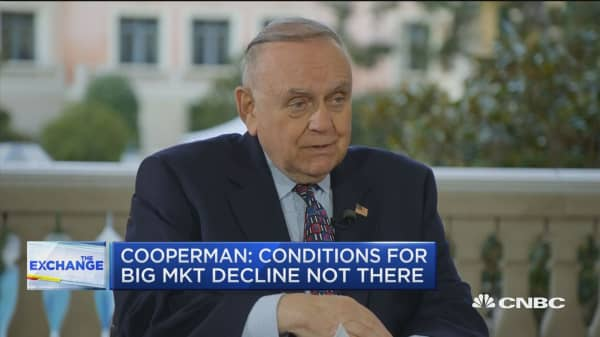 Watch CNBC's full interview with Lee Cooperman