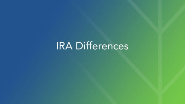 Deciding between a Roth IRA and Traditional IRA