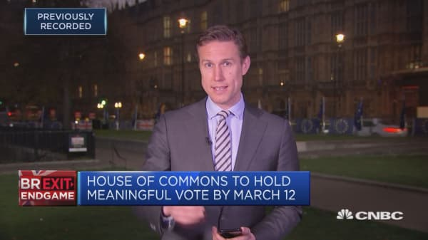 UK lawmakers to vote on Brexit procedure