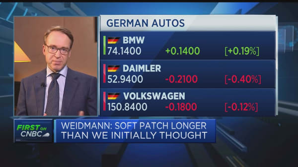 Fundamental growth drivers still in tact in Germany, Bundesbank president says