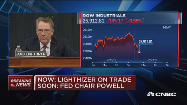 Lighthizer: China trade agreement has to be enforceable at all levels