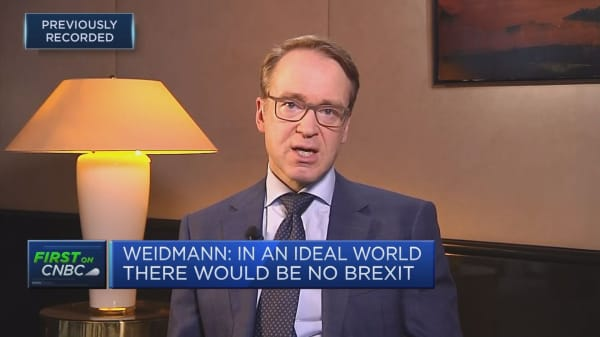Europe facing structurally low growth rates, Bundesbank president says