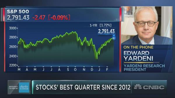 Earnings slowdown will not destroy bull market, Wall Street's Ed Yardeni says
