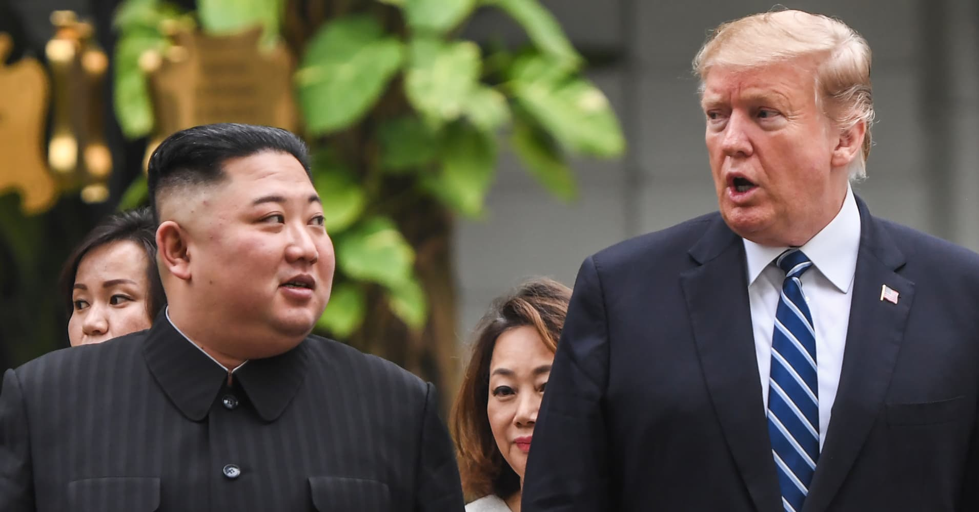On North Korea giving up nukes, Trump says again and again: 'No rush'