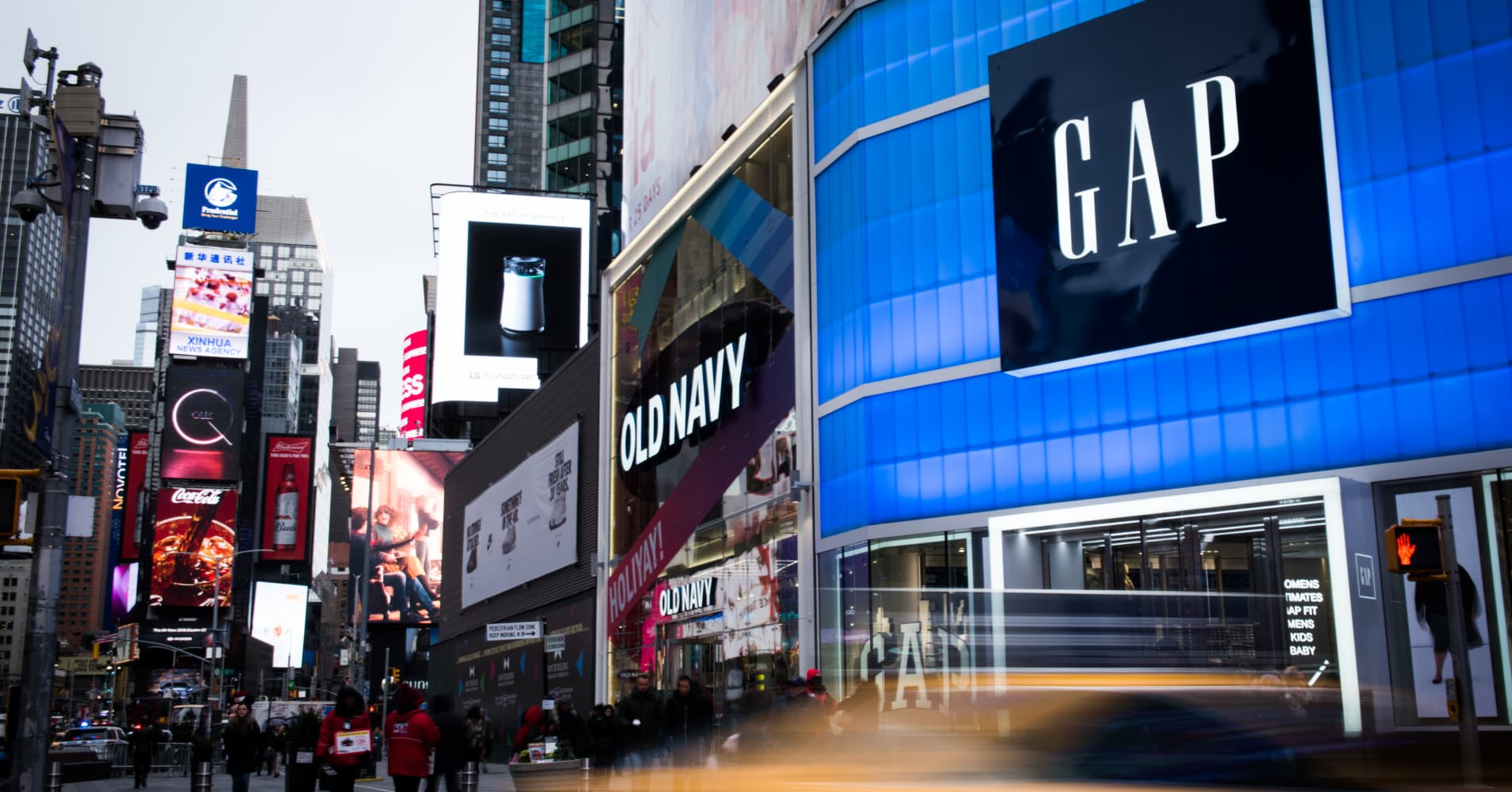 Gap will split into two publicly traded companies; stock surges