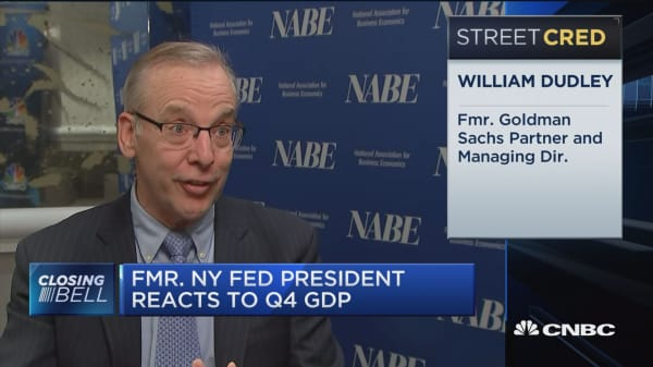 Former NY Fed president: We haven't seen the investor response from corporate tax cuts that would spur GDP growth