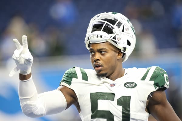 New York Jets linebacker Brandon Copeland
