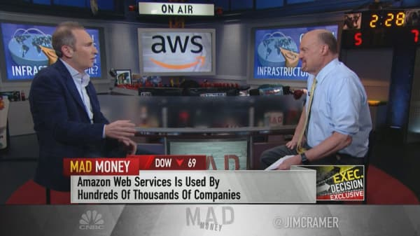 Amazon cloud CEO: We have a $30 billion run rate in the 'early stages'