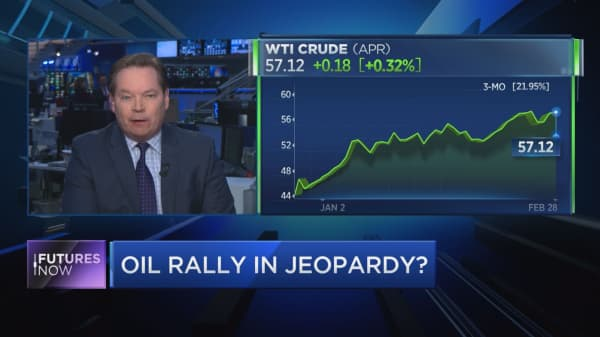 If oil breaks this level, it's a straight shot back to the December lows, says Kilduff