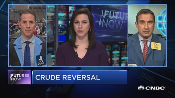 Futures Now: Crude makes a big reversal