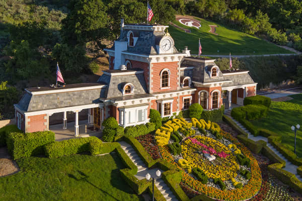 Michael Jackson's Neverland Ranch is up for sale for $31 million