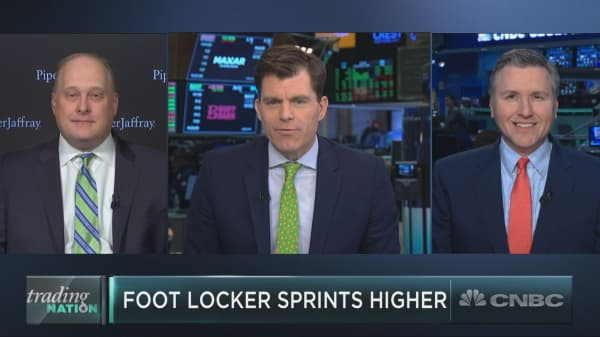 Foot Locker sprints higher, and it could have further to run