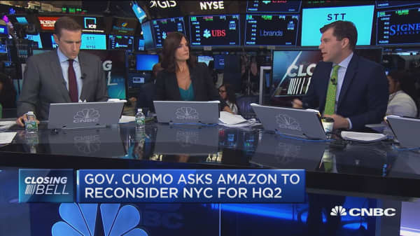 NYC's Cuomo should focus on improving subway, not wooing Amazon, says Rob Cox