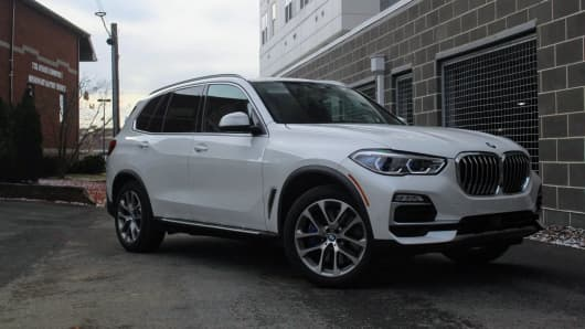 The 2019 BMW X5 xDrive40i