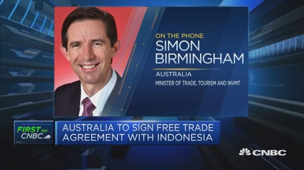 Australian minister discusses FTA with Indonesia
