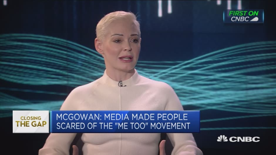 MeToo about pressing a button on 'societal reset,' Rose McGowan says