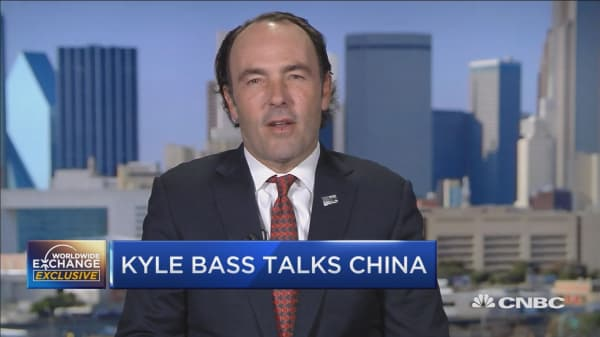 Kyle Bass talks China, markets, and the Fed
