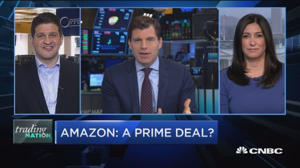 Why these experts see support for Amazon shares
