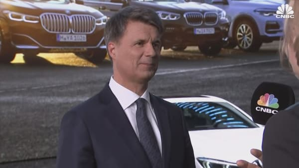 Watch CNBC's interview with BMW CEO Harald Krüger