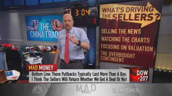Be patient and take advantage of this sell-off: Cramer