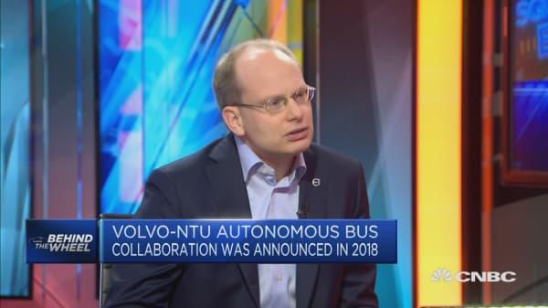 Autonomous vehicles can transform public transport: Volvo Bus