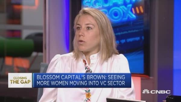 Blossom Capital founder: Need more initiatives to get women in tech