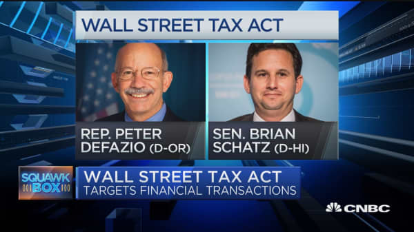Wall Street Tax Act to be introduced in Congress