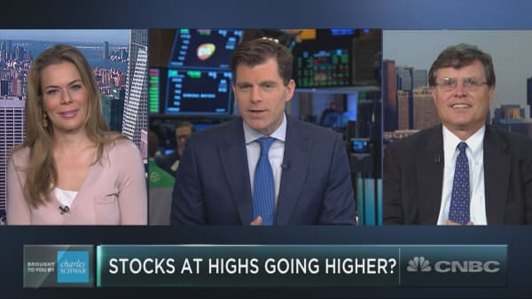 Three stocks at highs that could head even higher