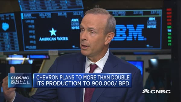 Chevron CEO on plans to double production