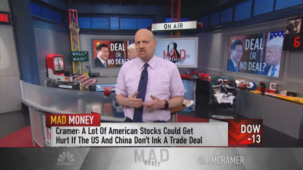Cramer: Why Trump could decide to walk away from a trade deal with China