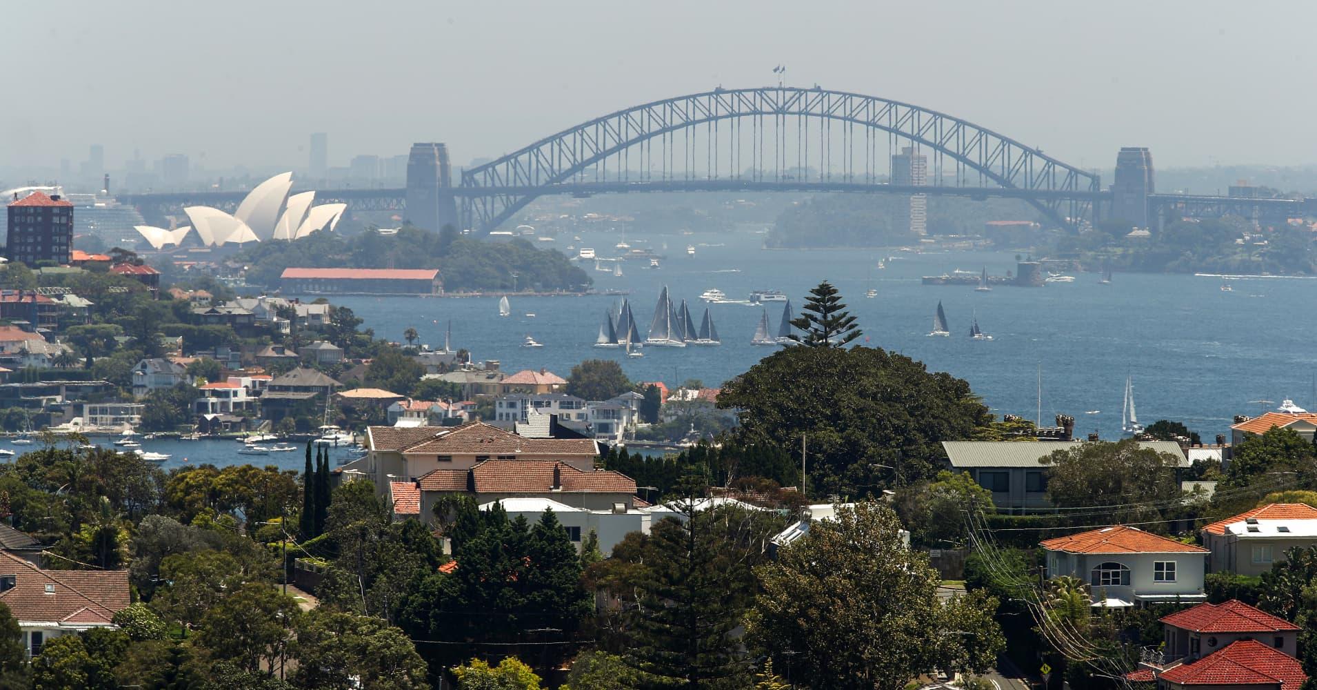 Australia dollar skids as the economy slows sharply