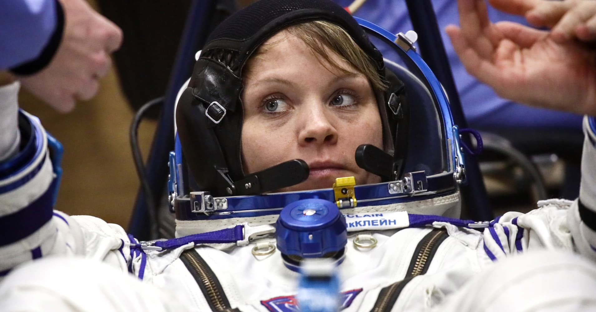 astronauts in the international space station - photo #14