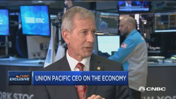 We are concerned supply chain disruption won't return to norm, says Union Pacific CEO