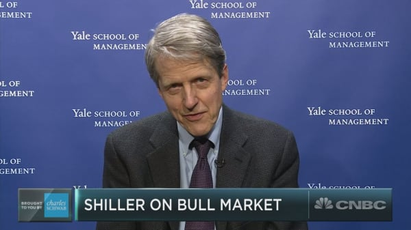 Nobel Prize-winning economist Robert Shiller sees powerful economic narratives keeping the bull market alive