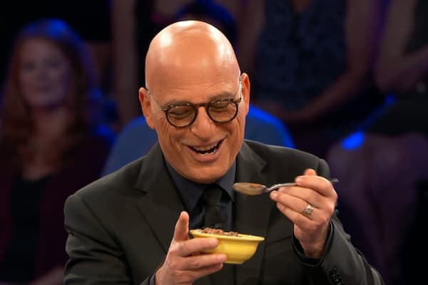 "CNBC: ""Deal or No Deal"" host and executive Howie Mandel tries Karma Ice Kreme"