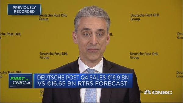 Deutsche Post CEO: We're in a challenging environment — but far from recession