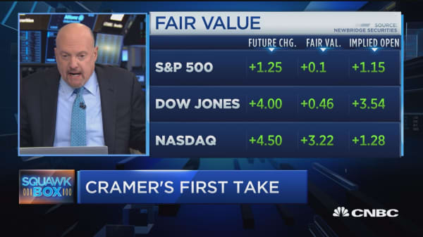 Cramer urges investors to find the positives in crushed stocks