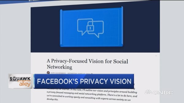 Facebook pivots to privacy after numerous scandals