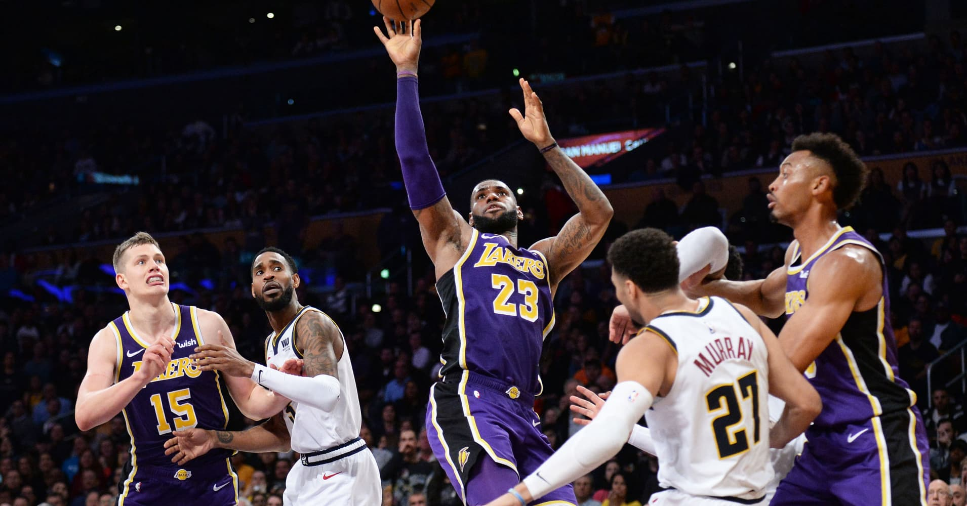 LeBron James beats Michael Jordan's NBA points but short on net worth