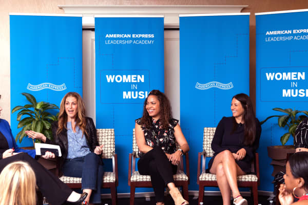 American Express will run a women in music leadership event in June 2019